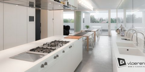 5 redenen om voor een gietvloer in je keuken te kiezen