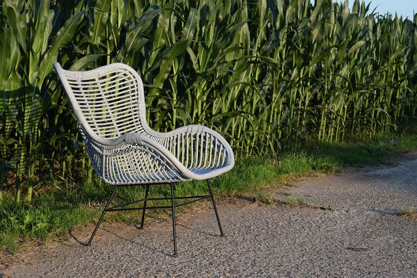 De rotan egg chair als universele fauteuil