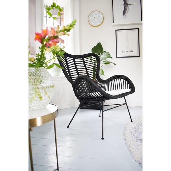 egg chair woonkamer