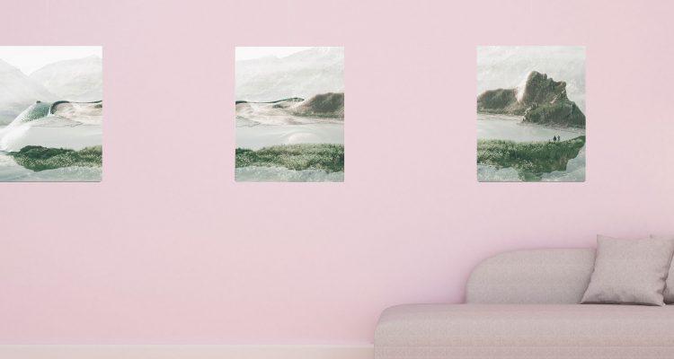 Canvasdoeken ophangen